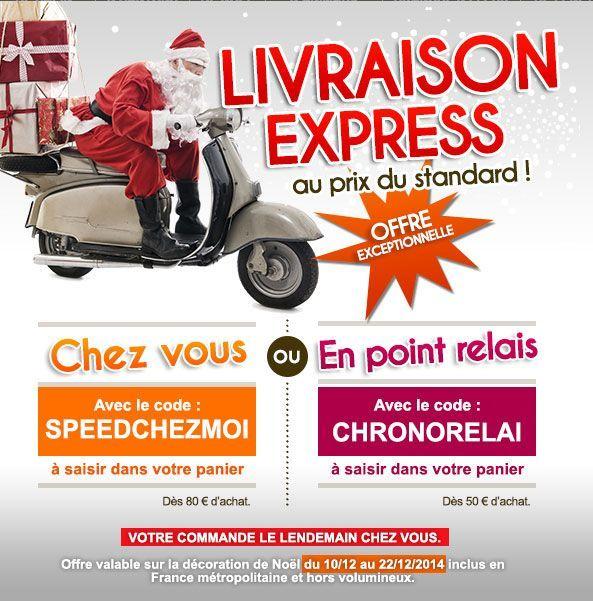 Code promo Livraison express