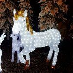 Licorne lumineuse Tornade Blanc froid 300 LED