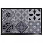 Tapis multi-usage (60 cm) Carreaux de ciment Gris