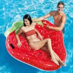 Ile gonflable Fraise - Intex