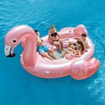 Flotador gigante Flamenco Rosa - Intex