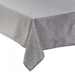 Mantel rectangular (L240 cm) Strass Plata