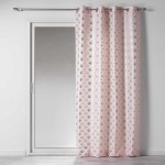 Rideau tamisant (140 x 260 cm) Goldy Rose