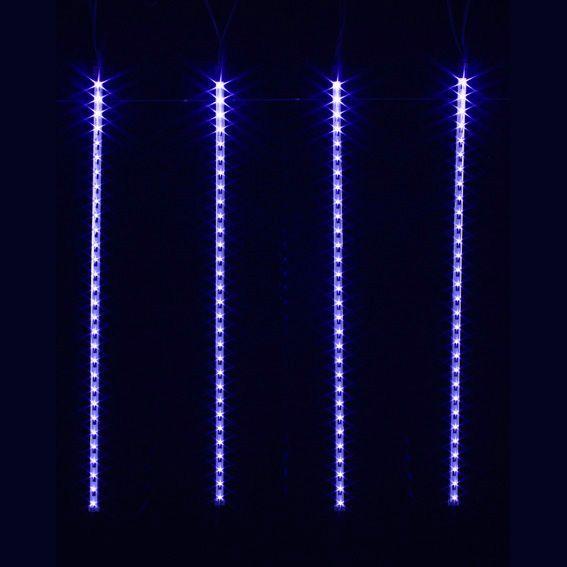 stalactite lumineuse 6 m gla ons d filement bleu 210 led guirlande lumineuse eminza. Black Bedroom Furniture Sets. Home Design Ideas