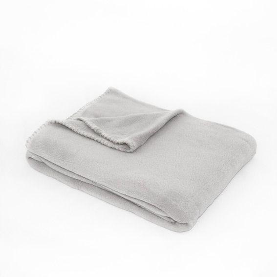 linge de maison jete canape montana gris clair