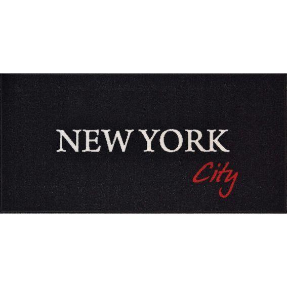 Tapis de cuisine xxl 115 cm new york city tapis multi for Tapis de cuisine 2 metres