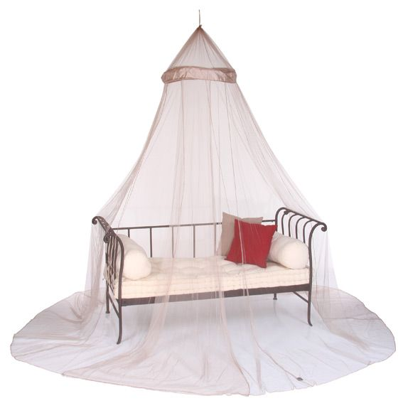 Ciel de lit moustiquaire lin ciel de lit eminza - Ciel de lit moustiquaire ...