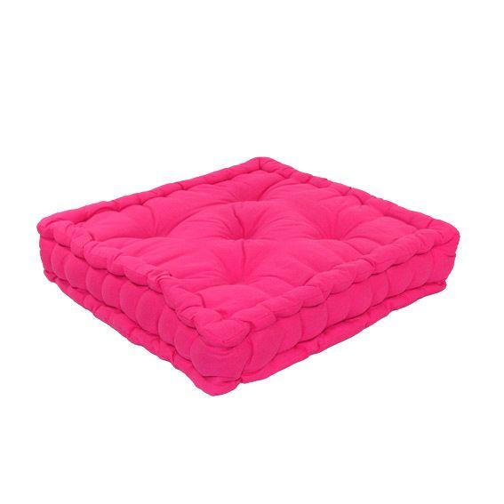 coussin de sol 50 cm etna fuchsia coussin de sol et. Black Bedroom Furniture Sets. Home Design Ideas