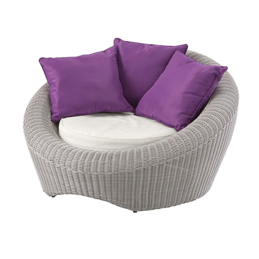 salon de jardin java gris clair violet 5 places salon. Black Bedroom Furniture Sets. Home Design Ideas