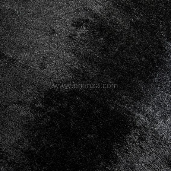tapis peau de b te peluche noir tapis peau de b te eminza. Black Bedroom Furniture Sets. Home Design Ideas