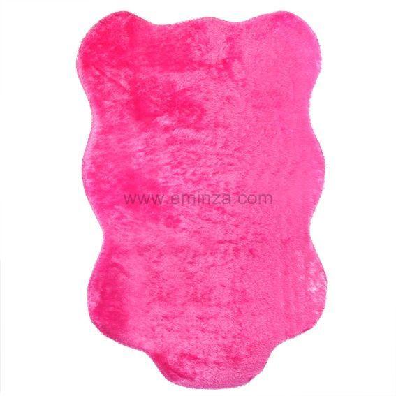 tapis peau de b te peluche rose tapis pour la maison. Black Bedroom Furniture Sets. Home Design Ideas