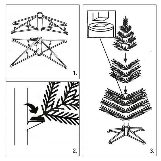 sapin artificiel de no l imp rial h210 cm vert sapin. Black Bedroom Furniture Sets. Home Design Ideas