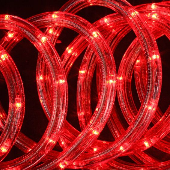 tube lumineux 10 m rouge 180 led guirlande lumineuse eminza. Black Bedroom Furniture Sets. Home Design Ideas