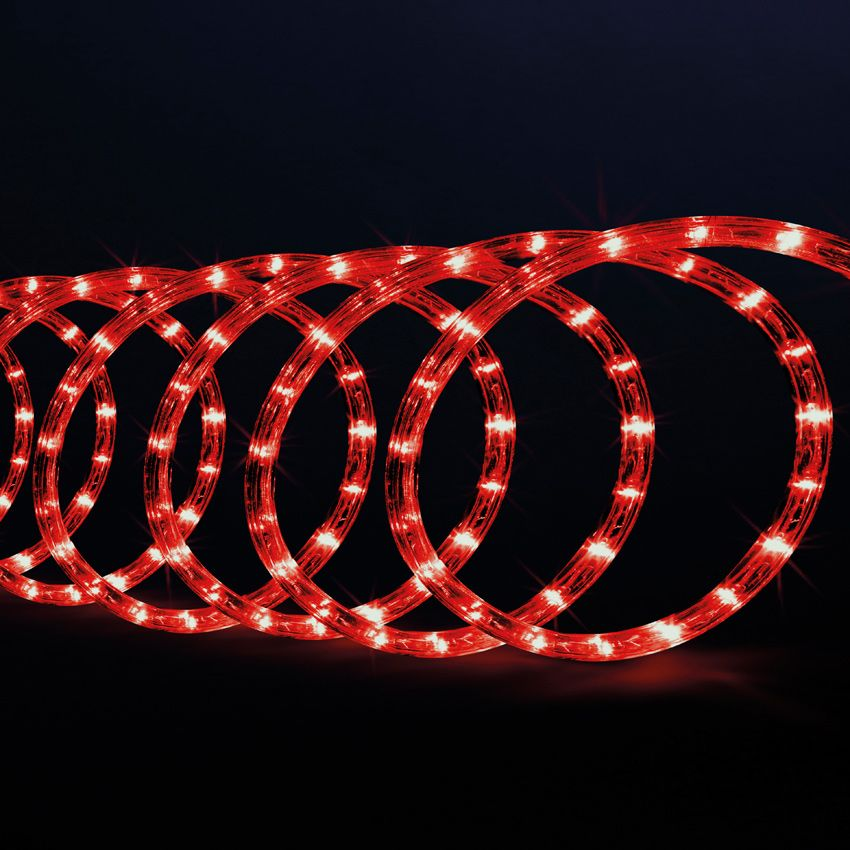 tube lumineux 10 m rouge 180 led guirlande lumineuse eminza. Black Bedroom Furniture Sets. Home Design Ideas