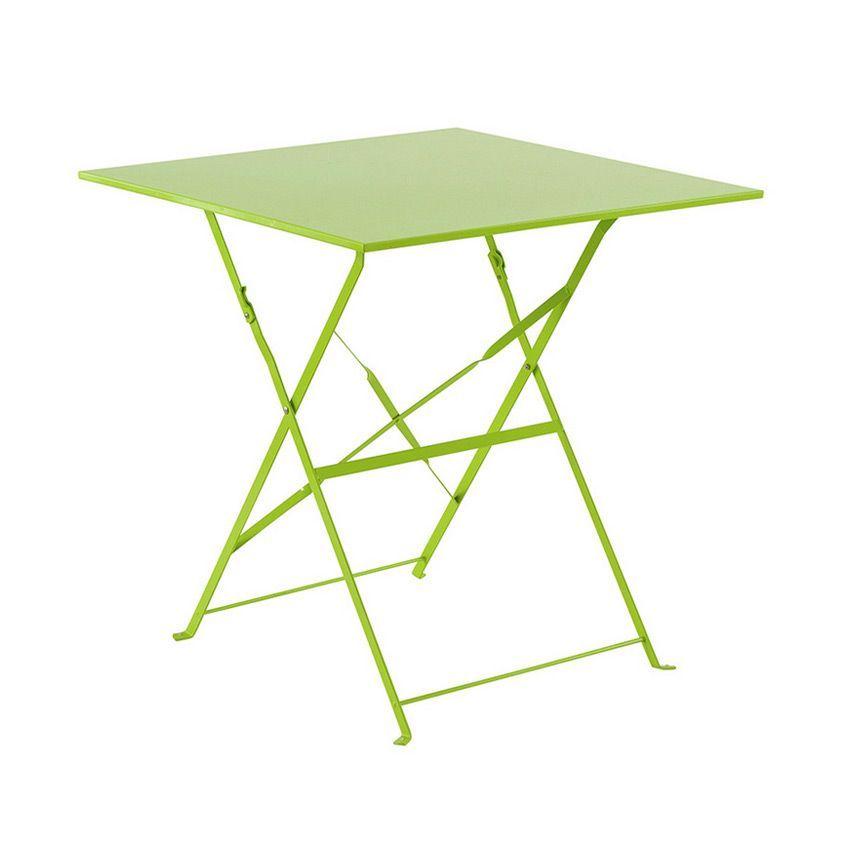 Best table de jardin metal marron photos - Table de jardin en metal ...