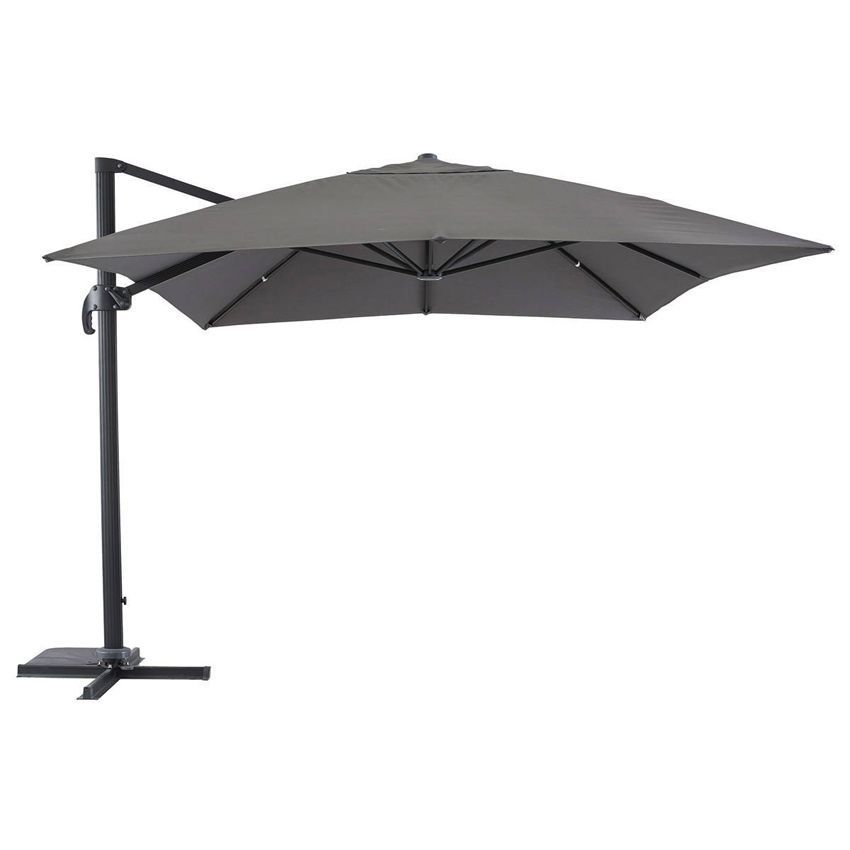 parasol d port fresno rectangulaire l4 x l3 m anthracite parasol d port eminza. Black Bedroom Furniture Sets. Home Design Ideas