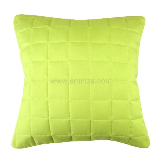 housse de coussin boutis 60 cm venus vert anis coussin eminza. Black Bedroom Furniture Sets. Home Design Ideas