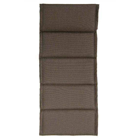 Coussin de fauteuil spun chocolat coussin et housse de for Housse coussin fauteuil