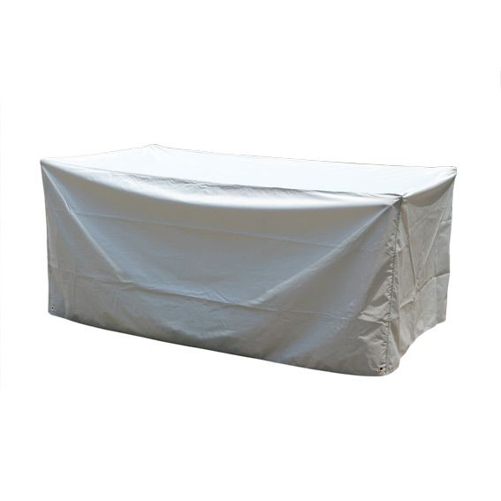 Housse de table rectangulaire l185 cm housse de protection eminza for Housse de relax de jardin