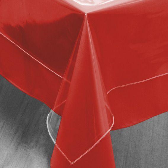 Prot ge nappe rectangulaire transparent l240 cm - Protege table rectangulaire ...