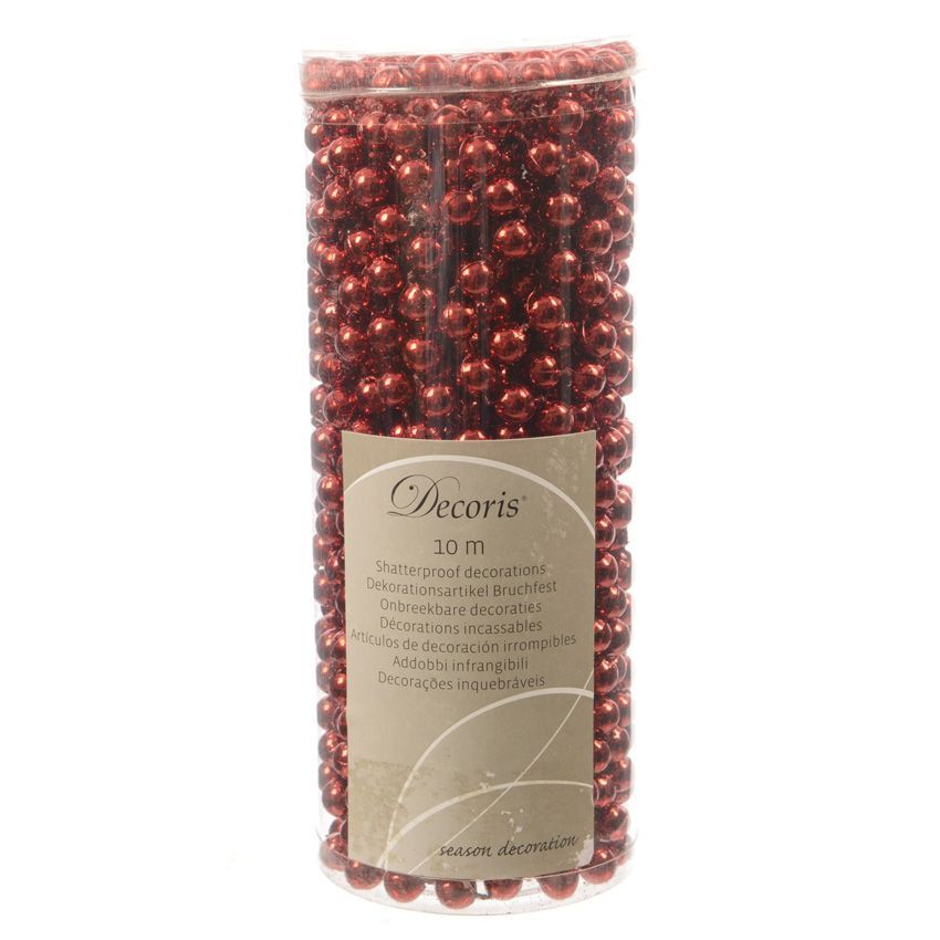 guirlande de no l perle alpine rouge guirlande de sapin eminza. Black Bedroom Furniture Sets. Home Design Ideas