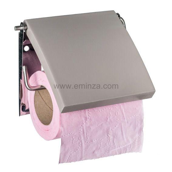 Porte papier toilettes uni taupe porte papier toilette for Porte papier toilettes