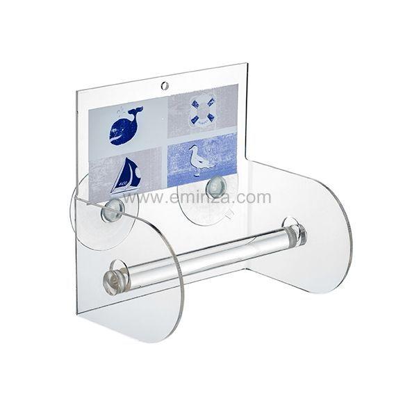 D rouleur papier wc avec ventouse - Enrouleur papier wc ...