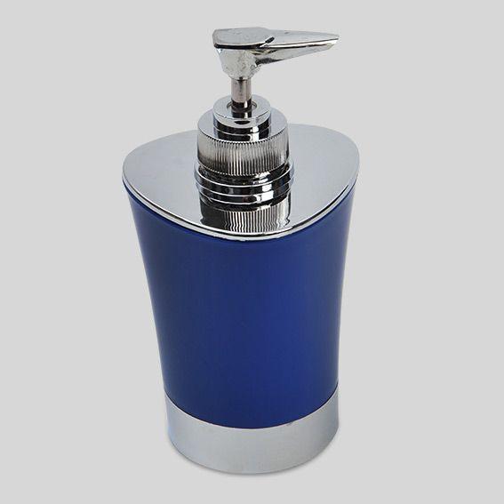 Distributeur de savon happy bleu distributeur de savon for Distributeur salle de bain