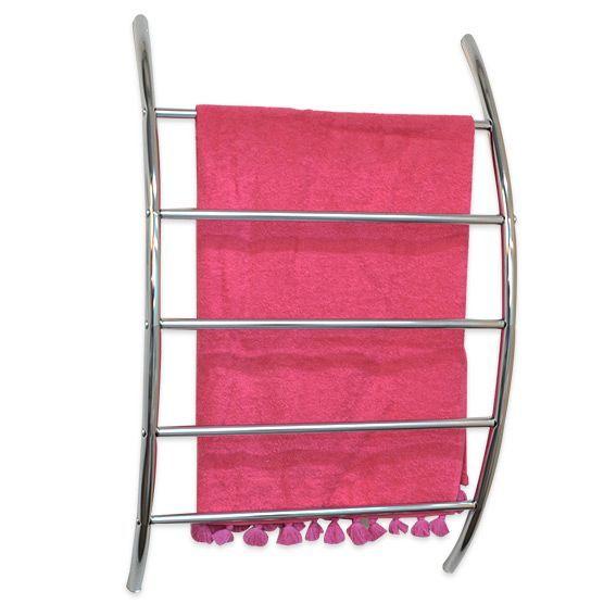 porte serviette mural 5 barres argent porte serviette eminza. Black Bedroom Furniture Sets. Home Design Ideas