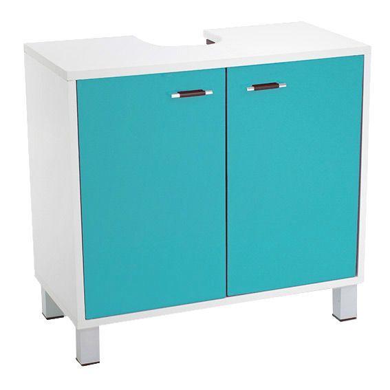 meuble dessous lavabo dinamo bleu dessous lavabo eminza. Black Bedroom Furniture Sets. Home Design Ideas