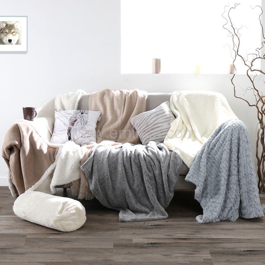 coussin polochon caldo ecru coussin et housse de coussin eminza. Black Bedroom Furniture Sets. Home Design Ideas