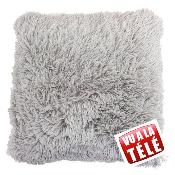 coussin douceur marmotte gris coussin et housse de coussin eminza. Black Bedroom Furniture Sets. Home Design Ideas