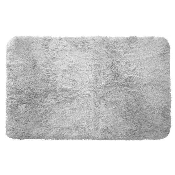 tapis rectangulaire 80 cm marmotte gris clair tapis de chambre salon eminza. Black Bedroom Furniture Sets. Home Design Ideas