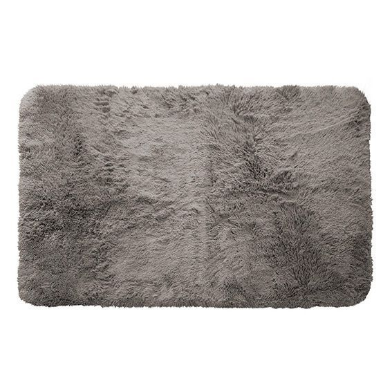 Tapis rectangulaire 80 cm marmotte taupe tapis de for Tapis salon taupe