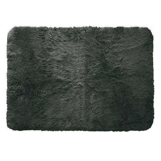 tapis rectangulaire 170 cm marmotte gris anthracite tapis de chambre salon eminza. Black Bedroom Furniture Sets. Home Design Ideas