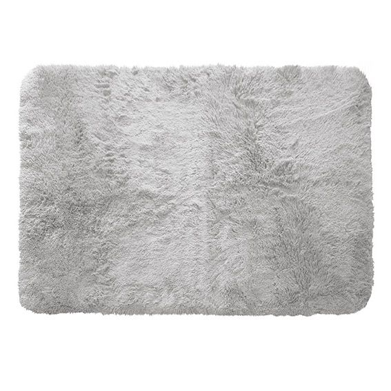 tapis rectangulaire 170 cm marmotte gris clair tapis de chambre salon eminza. Black Bedroom Furniture Sets. Home Design Ideas