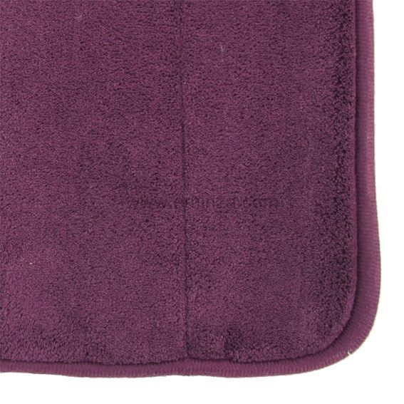 tapis de bain coton olga violet tapis salle de bain eminza. Black Bedroom Furniture Sets. Home Design Ideas