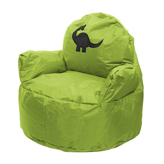 pouf fauteuil pour enfant vert mobilier pour enfant eminza. Black Bedroom Furniture Sets. Home Design Ideas