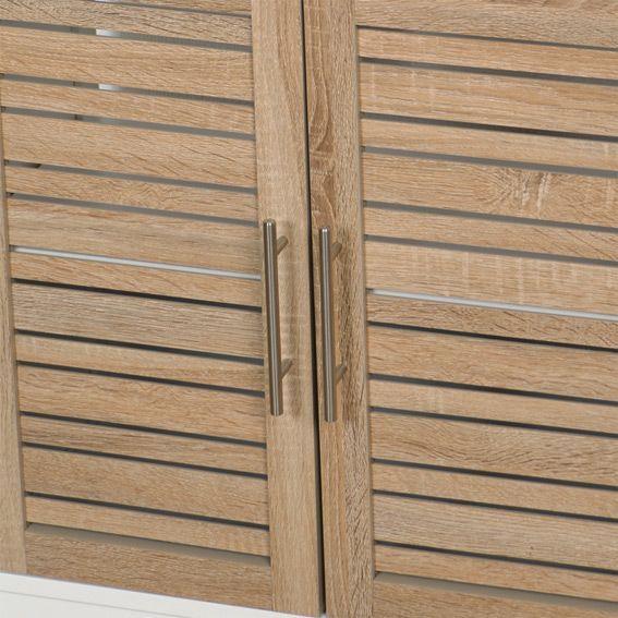 meuble dessous lavabo stockholm bois dessous lavabo eminza. Black Bedroom Furniture Sets. Home Design Ideas