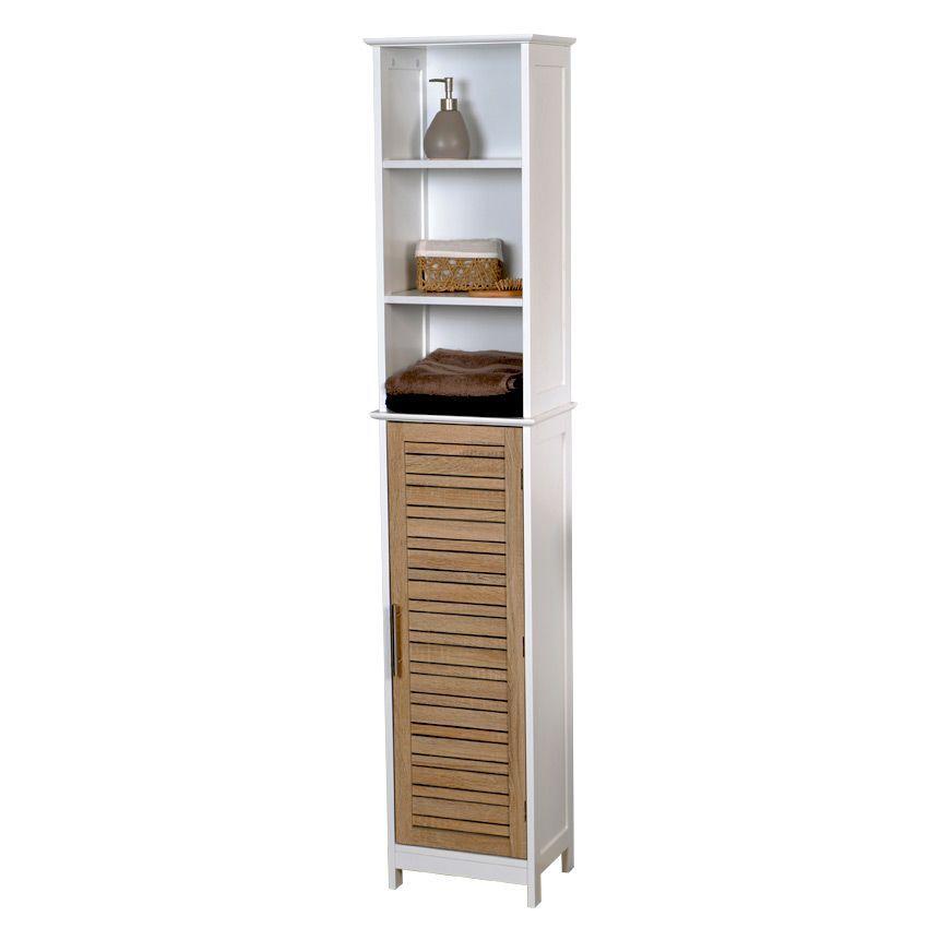 meuble colonne salle de bain stockholm bois colonne eminza. Black Bedroom Furniture Sets. Home Design Ideas
