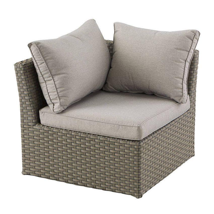 salon de jardin s villa taupe beige chin 5 places salon de jardin d tente eminza. Black Bedroom Furniture Sets. Home Design Ideas