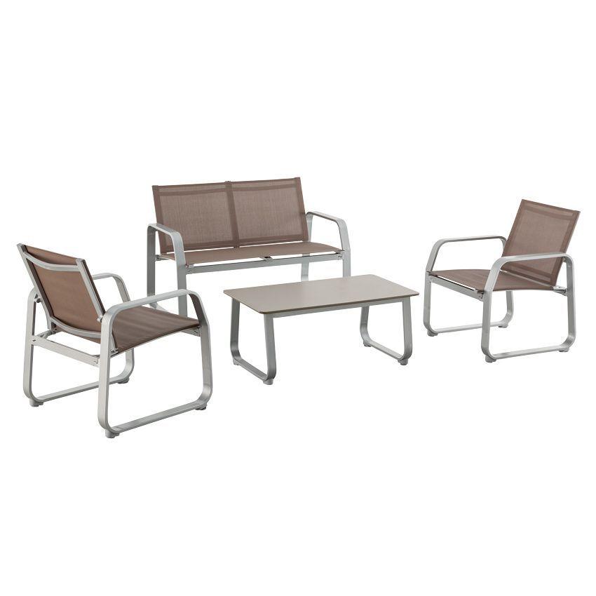 salon de jardin corona salon de jardin sorrento grand soleil canap fauteuils table anthracite. Black Bedroom Furniture Sets. Home Design Ideas