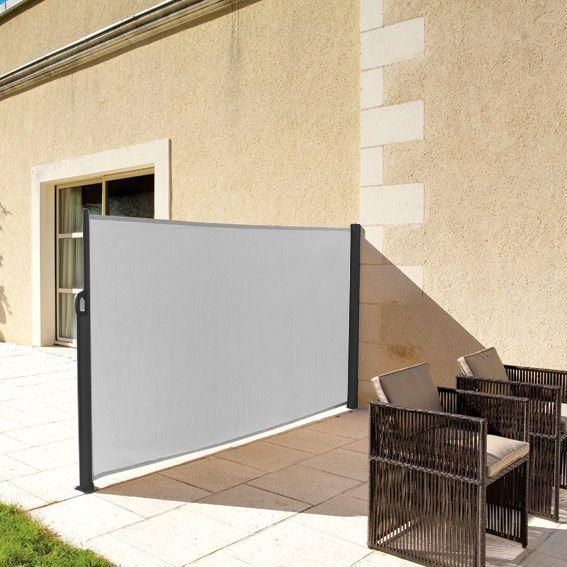 paravent r tractable napa gris paravent eminza. Black Bedroom Furniture Sets. Home Design Ideas