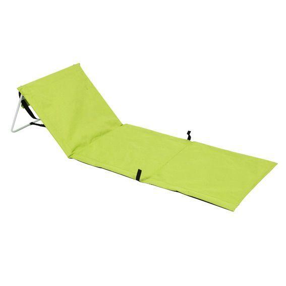 Matelas de plage tahaa vert anis mobilier de camping et gonflable eminza - Matelas a langer vert anis ...