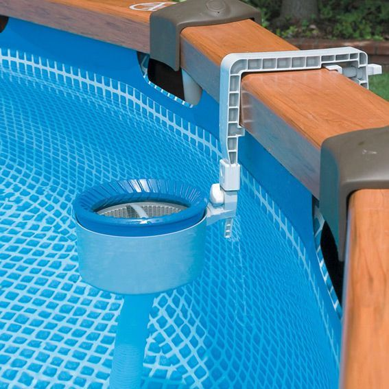 skimmer de surface piscine hors sol intex piscine et