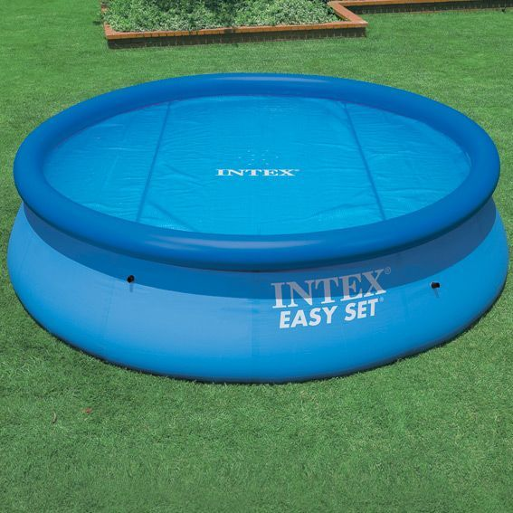 B che bulles m pour piscine ronde intex for Bache piscine intex