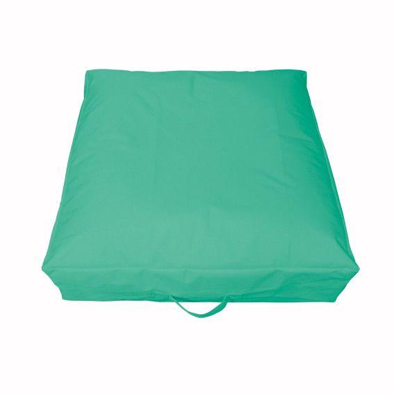 Coussin de sol gonflable vert d 39 eau bain de soleil et - Bain de soleil gonflable ...