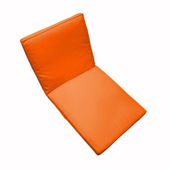 Coussin de fauteuil garden orange coussin de fauteuil for Housse coussin fauteuil