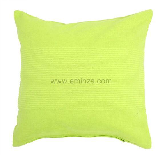housse de coussin lana vert anis coussin et housse de coussin eminza. Black Bedroom Furniture Sets. Home Design Ideas
