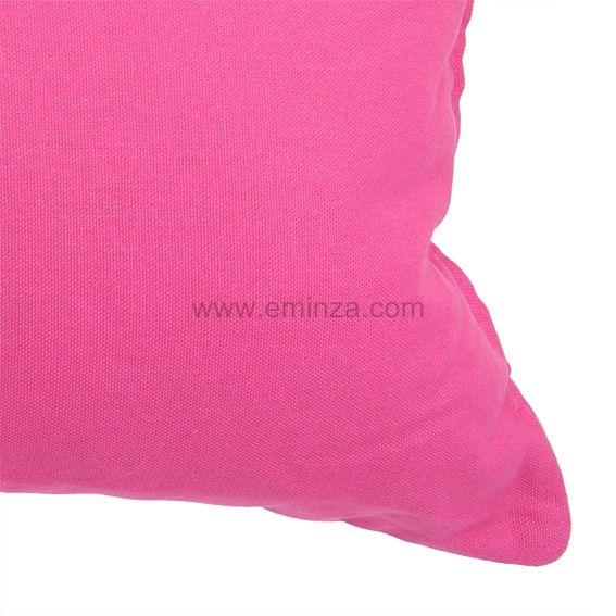 coussin rectangulaire contemporaine rose coussin et housse de coussin eminza. Black Bedroom Furniture Sets. Home Design Ideas